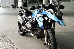 BMW R1200GS LC Blue Camo
