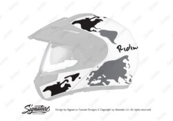 Schuberth E1 Pro The Globe Black Grey