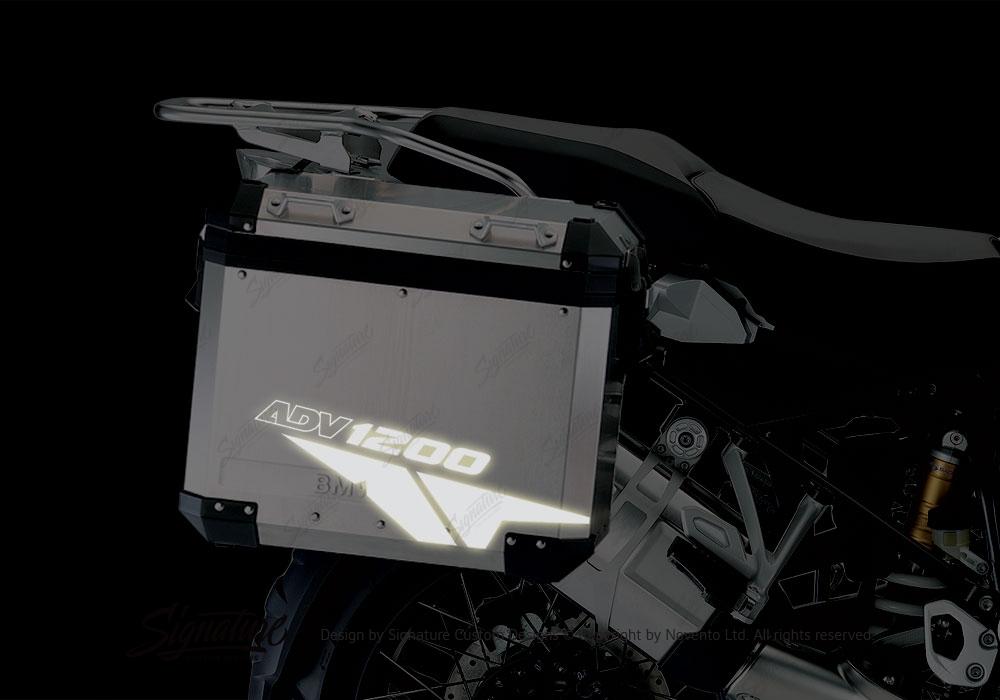 BMW Aluminum Panniers Velos Series Reflective Films Configurator