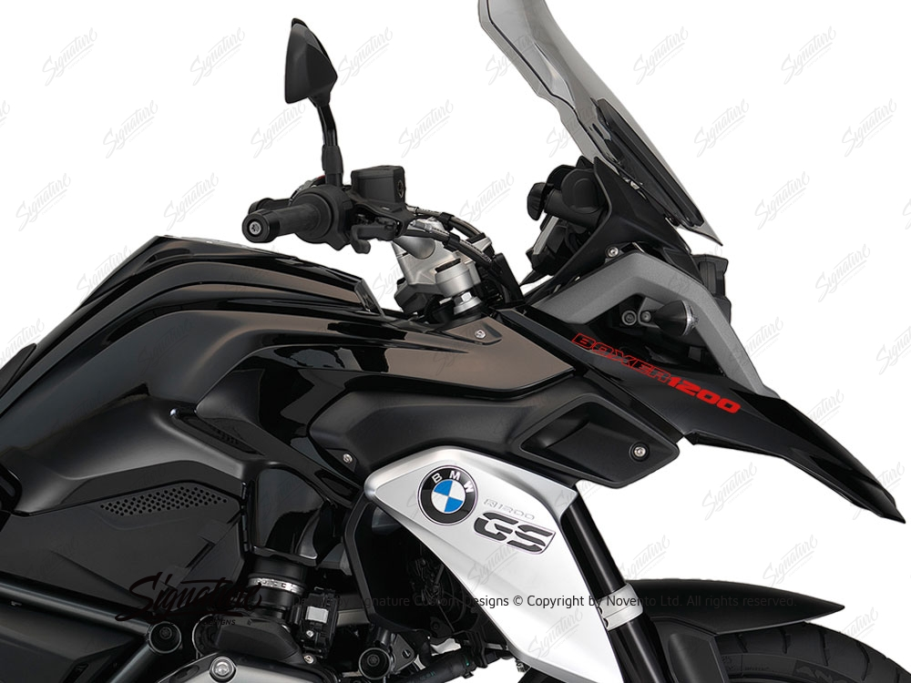 bmw r1200gs lc triple black boxer1200 fender stickers. Black Bedroom Furniture Sets. Home Design Ideas