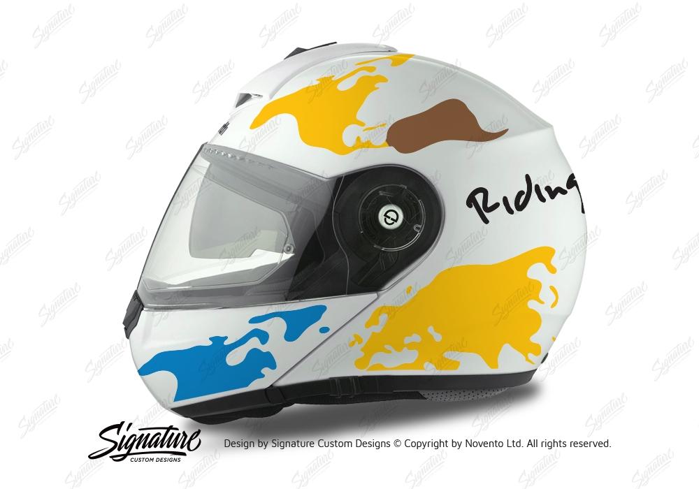Schuberth C3 Pro Helmet The World