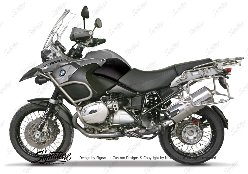 Bmw R1200gs Adventure 2006 2007 Camouflage Wrapping Kit