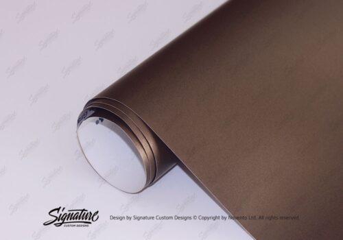 Brown Metallic Matte Vinyl