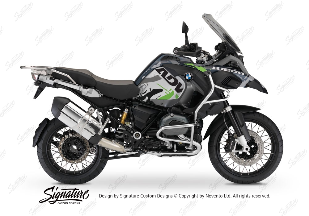 bmw r1200gs lc adventure ocean blue metallic matte safari toxic green stickers kit signature. Black Bedroom Furniture Sets. Home Design Ideas