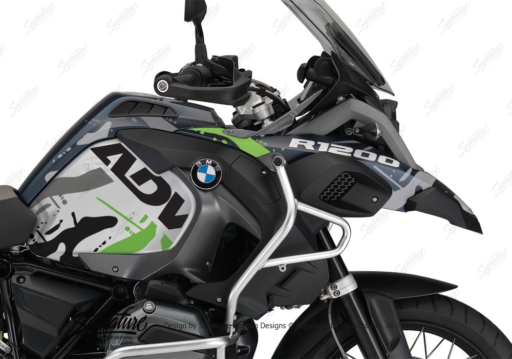 2018 bmw adventure bikes. beautiful bikes bmw r1200gs lc adventure ocean blue metallic matte safari toxic green  stickers kit intended 2018 bmw adventure bikes