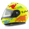 HEL 2098 Schuberth C3 Pro Yellow The World OrangeLight BlueRedGreen 01