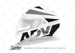 HJC IS MAX II Helmet White Vivo Left