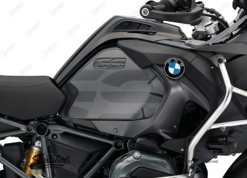 BPRF 2194 BMW R1200GS LC Adventure Triple Black Tank Protective Film 02 2
