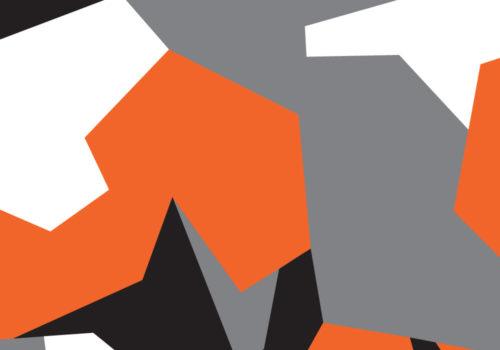 Camo Wrap Orange Grey