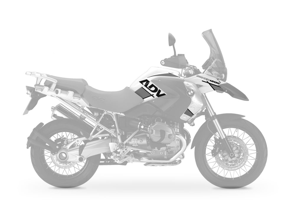 Intellectual Property BMW R1200GS vector Series