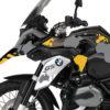 BKIT 2761 BMW R1200GS LC Triple Black The Globe Yellow Grey Stickers Kit 04