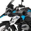 BKIT 2762 BMW R1200GS LC Triple Black The Globe Blue Grey Stickers Kit 04