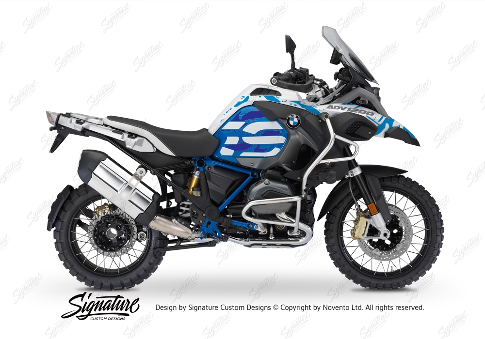 bmw r1200gs lc adventure style rallye safari blue variations