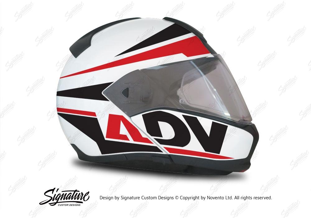 bmw system 6 helmet white vivo series black red. Black Bedroom Furniture Sets. Home Design Ideas