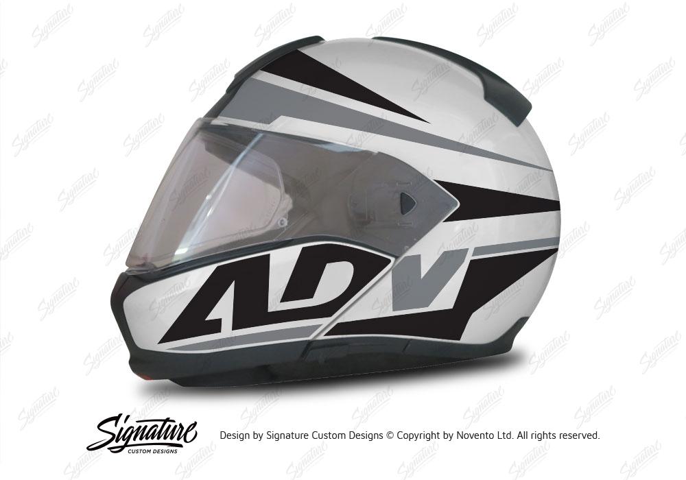 bmw system 6 helmet silver vivo series black grey. Black Bedroom Furniture Sets. Home Design Ideas