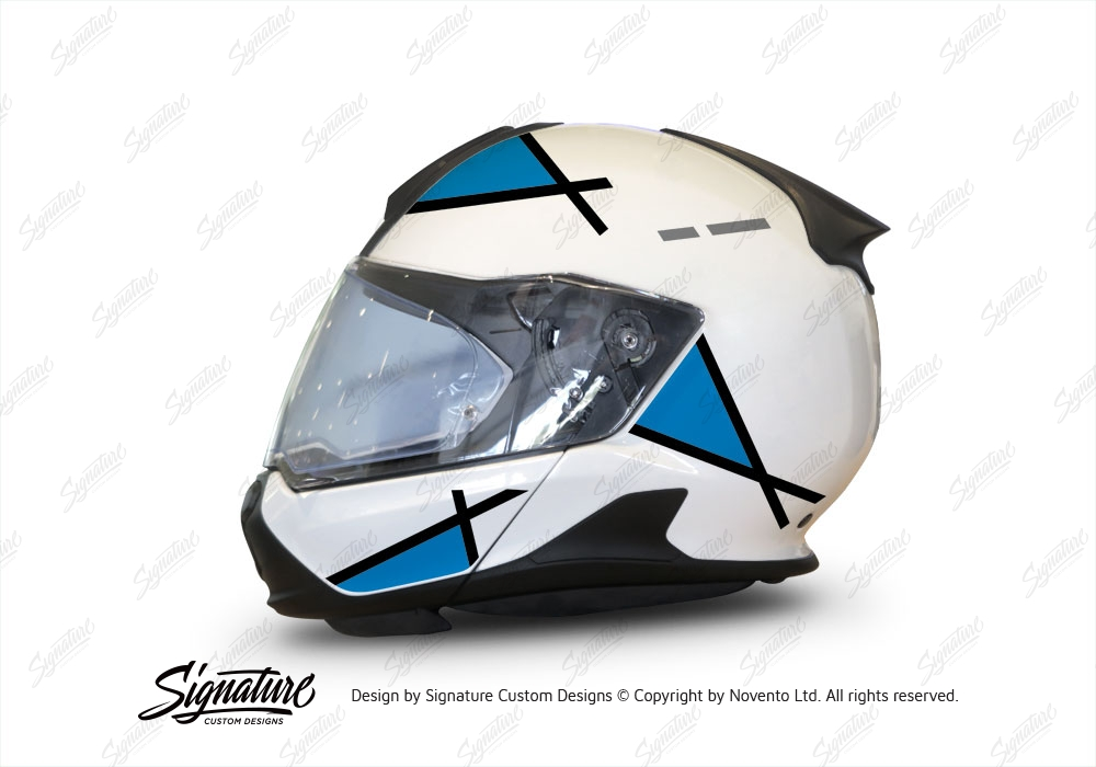 bmw system 7 helmet white vector series black blue. Black Bedroom Furniture Sets. Home Design Ideas