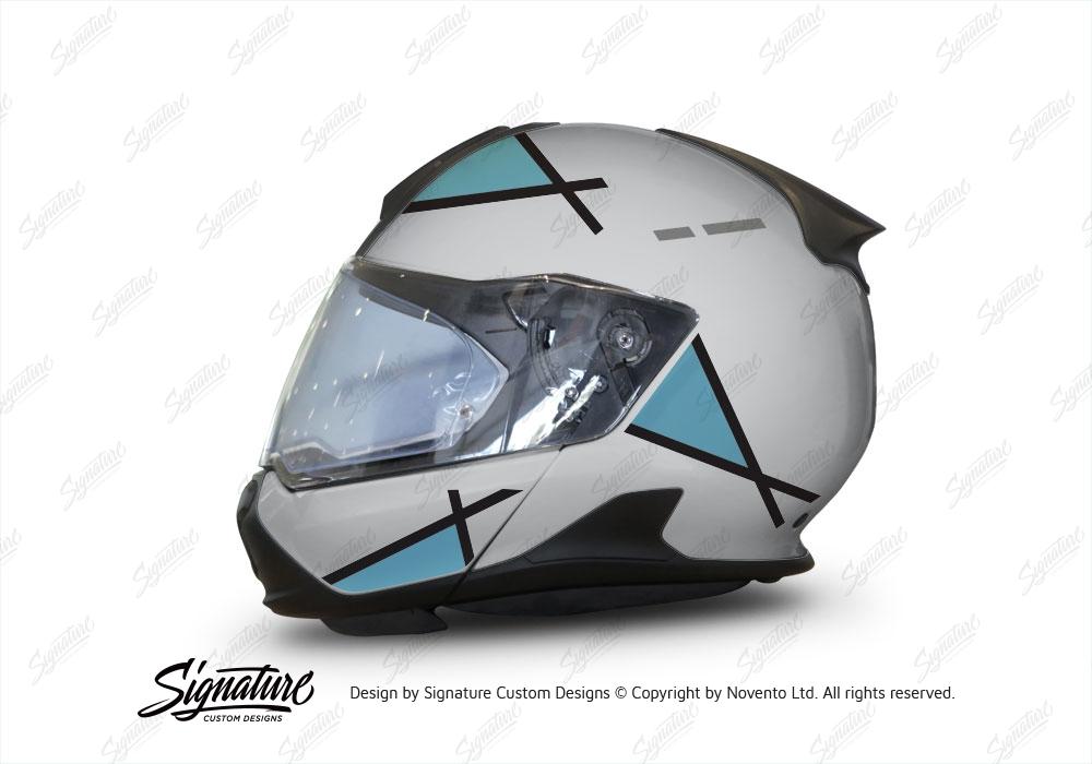 bmw system 7 helmet silver vector series light blue. Black Bedroom Furniture Sets. Home Design Ideas