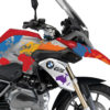 BKIT 3064 BMW R1200GS LC Racing Red The Globe Multicolour Stickers Kit 02