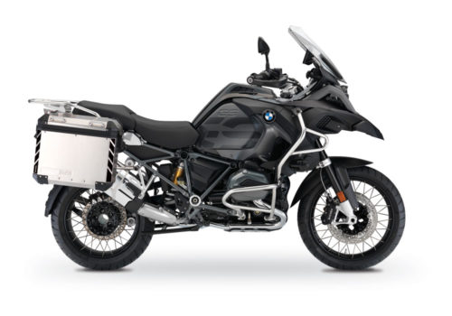 BSTI 3067 BMW R1200GS LC Adventure Panniers Black Reflective Stripes Stickers Kit 01