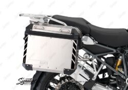 BSTI 3067 BMW R1200GS LC Adventure Panniers Black Reflective Stripes Stickers Kit 03