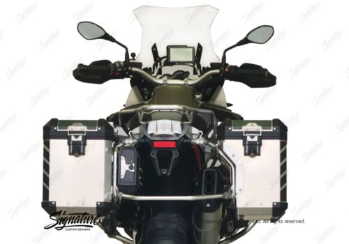 BSTI 3067 BMW R1200GS LC Adventure Panniers Black Reflective Stripes Stickers Kit 05