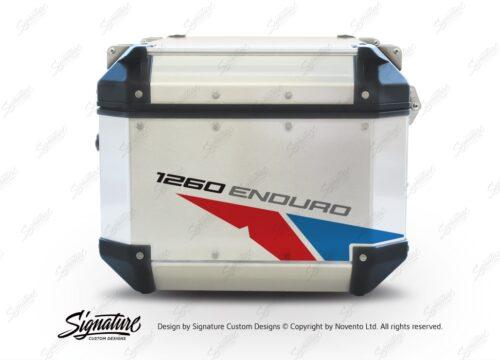 GISTI 2707 Givi Trekker Outback Top Box 42lt 58lt Velos Red Blue Stickers Kit 1260ENDURO
