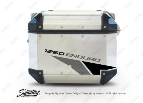 GISTI 2708 Givi Trekker Outback Top Box 42lt 58lt Velos Grey Black Stickers Kit 1260ENDURO