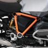 BFS 3089 BMW GS LC Adventure 2014 Olive Matte Pyramid Frame Wrap Orange 02