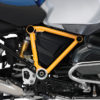 BFS 3090 BMW GS LC Adventure 2014 Racing Blue Pyramid Frame Wrap Yellow 02