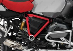 BFS 3092 BMW GS LC Adventure 2014 Racing Red Pyramid Frame Wrap Red 02