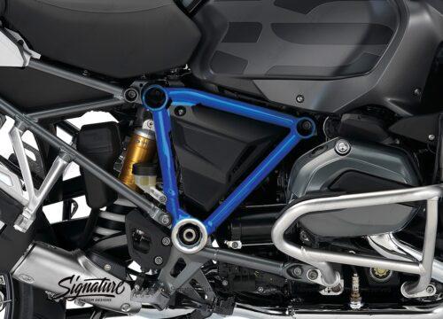 BFS 3093 BMW GS LC Adventure 2014 Style Exclusive Pyramid Frame Wrap Cobalt Blue 02