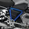 BFS 3097 BMW GS LC 2013 2016 Thunder Grey Pyramid Frame Wrap Cobalt Blue 02