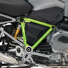 BFS 3098 BMW GS LC 2013 2016 Frozen Dark Blue Pyramid Frame Wrap Toxic Green 02