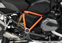 BFS 3099 BMW GS LC 2013 2016 Triple Black Pyramid Frame Wrap Orange 02