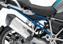 BFS 3104 BMW R1200GS LC 2013 2016 Fire Blue Subframe Wrap Cobalt Blue 02