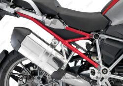 BFS 3105 BMW R1200GS LC 2013 2016 Racing Red Subframe Wrap Red 02