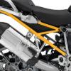 BFS 3106 BMW R1200GS LC 2013 2016 Thunder Grey Subframe Wrap Yellow 02