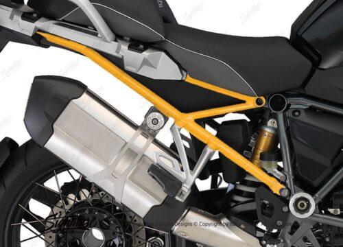 BFS 3108 BMW R1200GS LC 2013 2016 Triple Black Subframe Wrap Yellow 02
