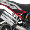 BFS 3119 BMW R1200GS LC 2017 Lupine Blue Metallic Rallye Subframe Wrap Red 02