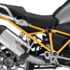 BFS 3123 BMW R1200GS LC 2013 2016 Thunder Grey GS Frame Wrap Yellow 02