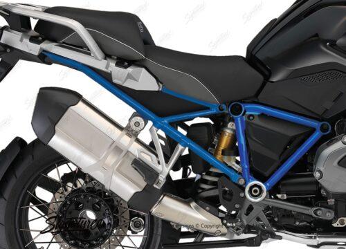 BFS 3125 BMW R1200GS LC 2013 2016 Triple Black GS Frame Wrap Cobalt Blue 02