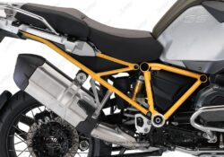 BFS 3130 BMW GS LC Adventure 2014 Olive Matte GS Frame Wrap Yellow 02