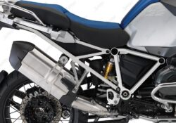 BFS 3131 BMW GS LC Adventure 2014 Racing Blue GS Frame Wrap Silver 02