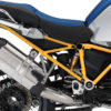 BFS 3131 BMW GS LC Adventure 2014 Racing Blue GS Frame Wrap Yellow 02