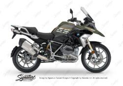BKIT 3135 BMW R1200GS LC 2017 Alpine White Black Storm M90 Green Camo 01
