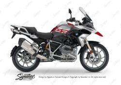 BKIT 3137 BMW R1200GS LC 2017 Alpine White Black Storm M90 Red Grey Camo 01