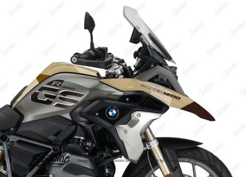 BKIT 3140 BMW R1200GS LC 2017 Iced Chocolate Metallic Exclusive M90 Desert Camo 02