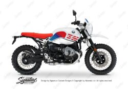 BKIT 3143 BMW RnineT Urban GS Limited Edition Side Tank and Front Fender MSport Stickers Kit 01 1