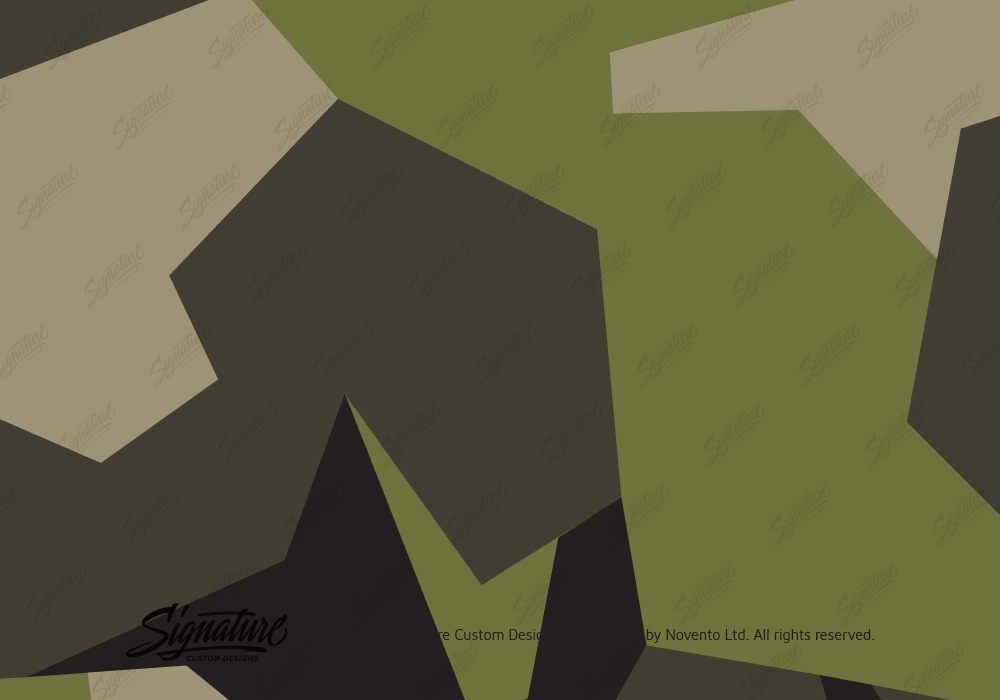 Camo Wrap Green