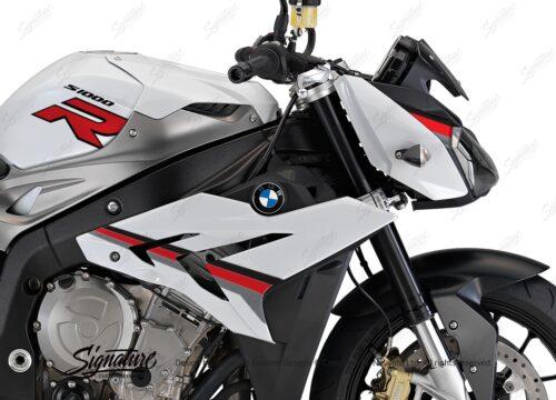 BKIT 3171 BMW S1000R Light White Alive Series Black Red Grey Stickers Kit 02
